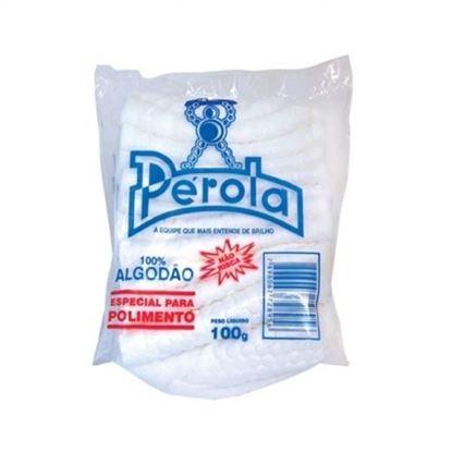 ALGODÃO PARA POLIMENTO PÉROLA - 100GRS