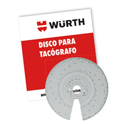 WURTH DISCO TACOGRAFRO 7 DIAS 125