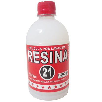 BOX 21 RESINA - 500 ML
